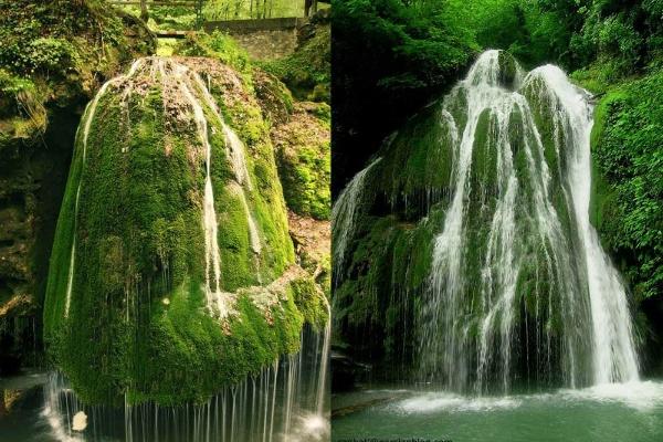 آبشار خزهای بیگار/ آبشار خزهای کبود وال