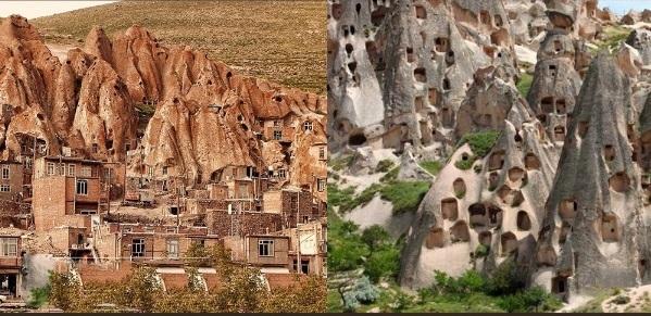روستای کندوان/ کاپادوکیه
